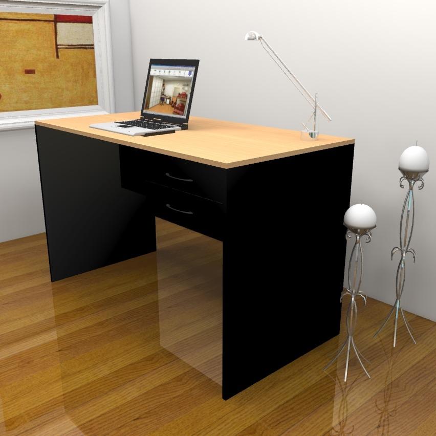 Escritorio Haya Y Negro Muebles Para Oficina 003-astra-008 - $ 2.499 ...