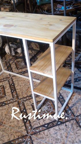escritorio hierro blanco diseo de oficina a medida
