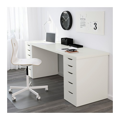 escritorio ikea linnmon alex 7 en mercado libre. Black Bedroom Furniture Sets. Home Design Ideas