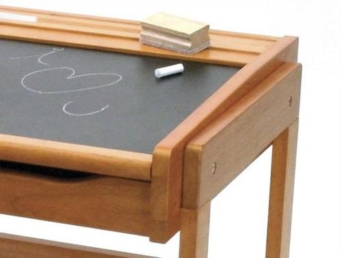 escritorio infantil de madera con pizarron lipper vv4