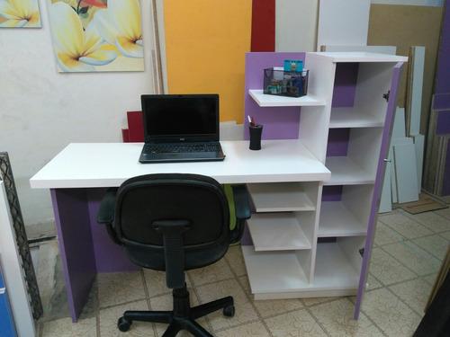 escritorio - juvenil - biblioteca - organizador - moderno