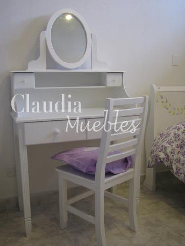 escritorio juvenil blanco secreter dresuar claudia muebles