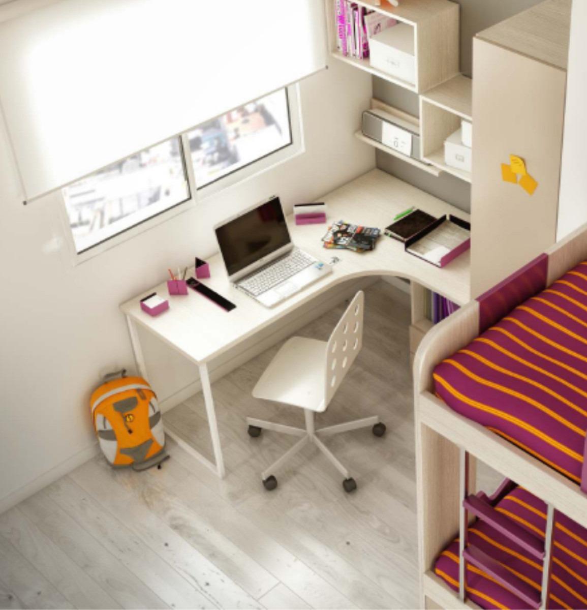 Escritorio Juvenil Laqueado Muebles Infantiles 7 100 00 En  # Muebles Laqueados Infantiles