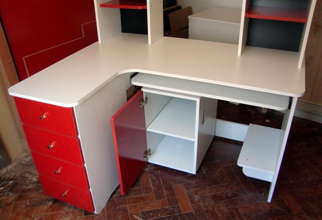 escritorio l ele pc alzada esquina aprovechada cajones