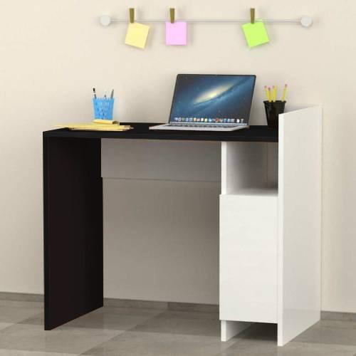 escritorio laqueado semi mate biblioteca organizador mueble