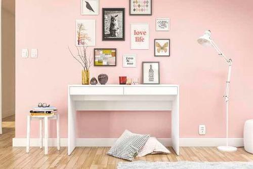escritorio lindoia 2 cajones blanco o avellana mi casa