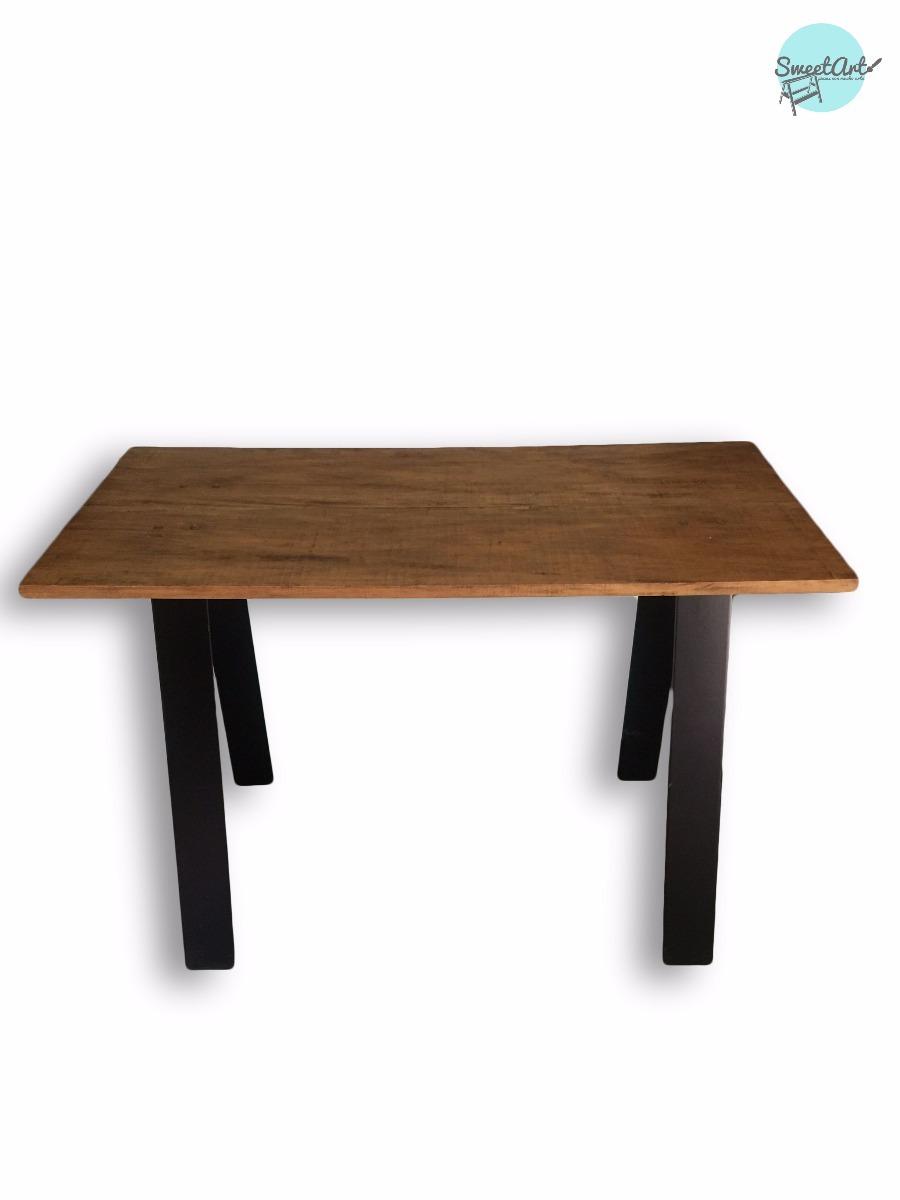 Escritorio living mesa para escritorio madera 3 en mercado libre - Mesas de escritorio de madera ...