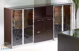 escritorio lujoso sahara con biblioteca arturito de oficinas