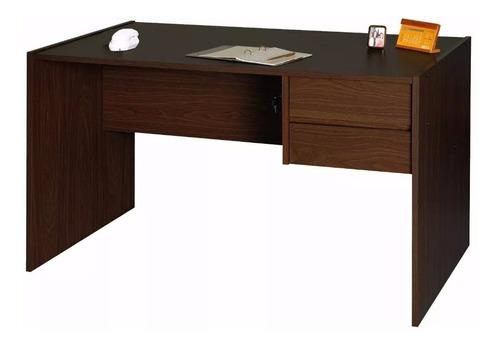 escritorio melamina platinum 4020 1.24mts cajones cerradura