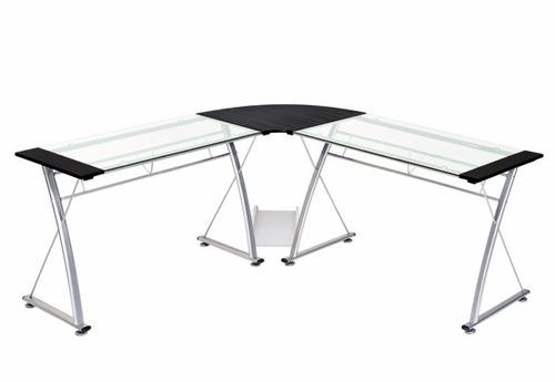 escritorio mesa computador gerente vidrio 150.x150 r.10225