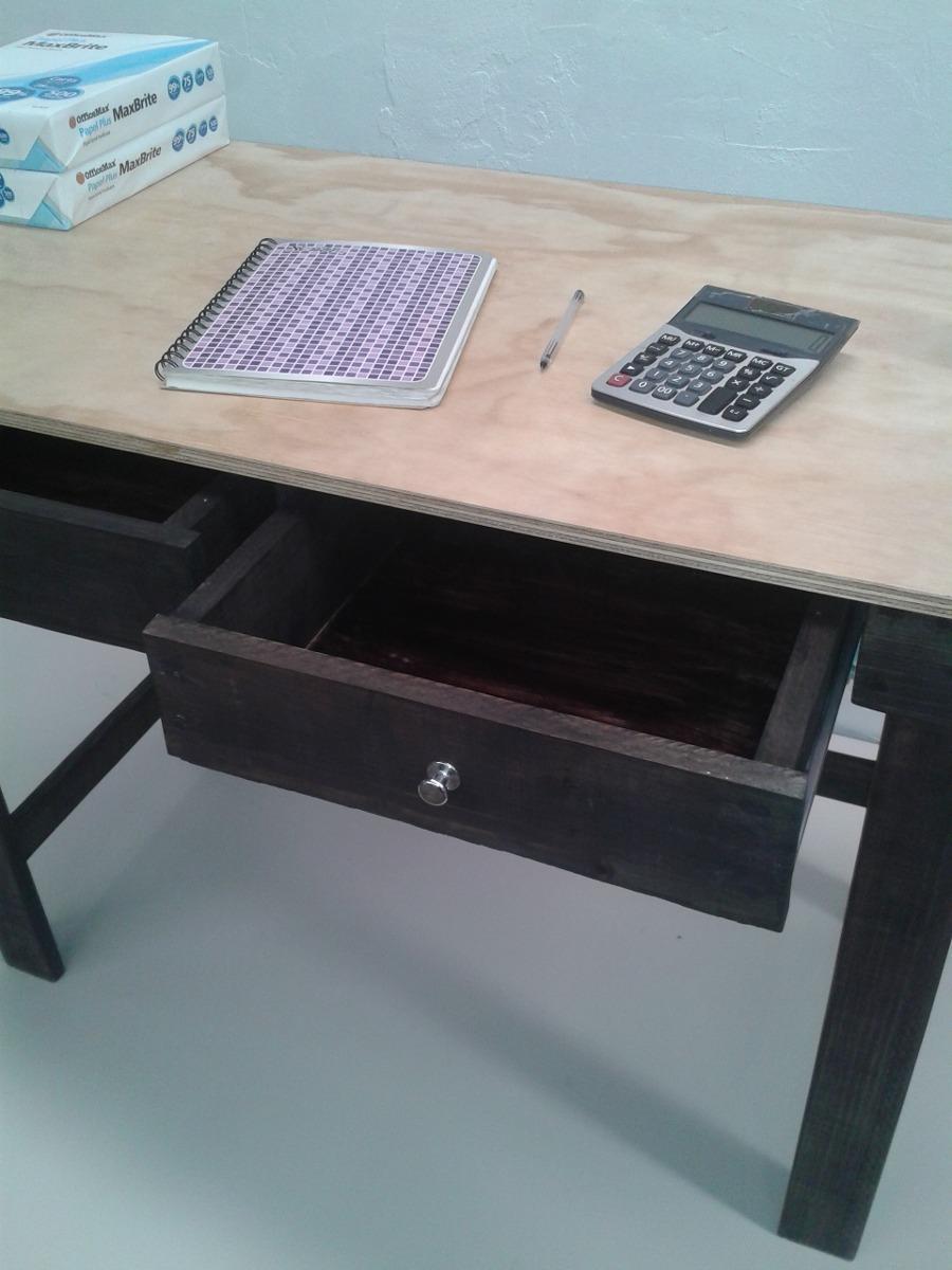Escritorio mesa con cajones en mercado libre for Mesa escritorio con cajones