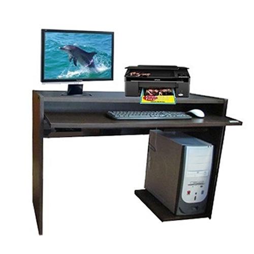 escritorio mesa de computacion platinum 424 tabaco tio musa