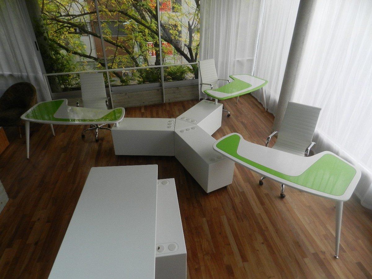 escritorio / mesa de diseño moderno mueble oficina laqueado ... - Muebles De Oficina Diseno