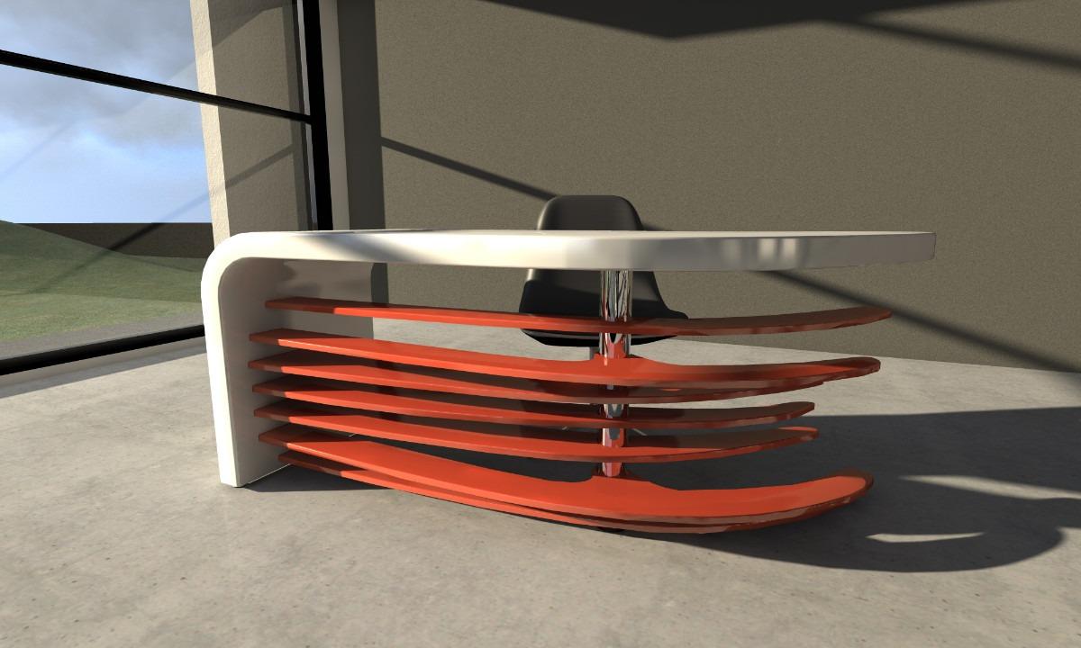 escritorio mesa de pc de diseo moderno muebles de oficina
