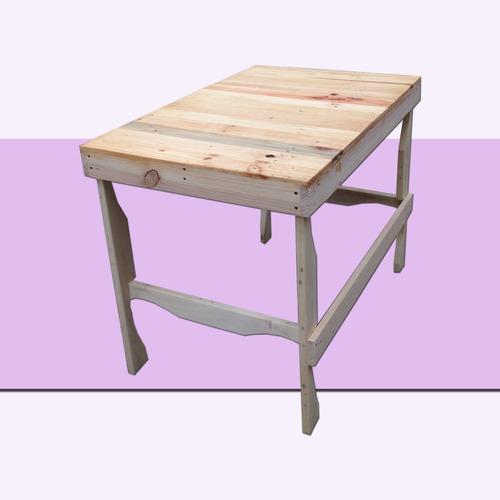 escritorio mesa de trabajo 10 madera tarima sustentable