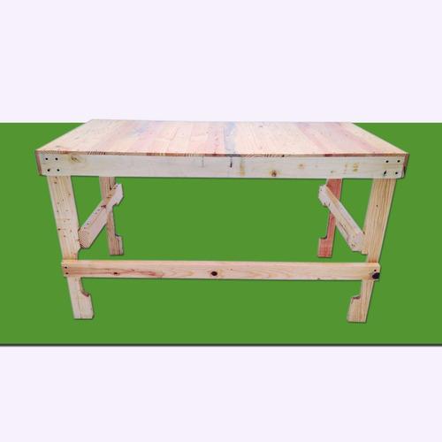 escritorio mesa de trabajo 12 madera tarima sustentable