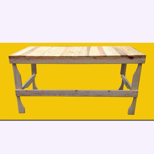escritorio mesa de trabajo 15 madera tarima sustentable