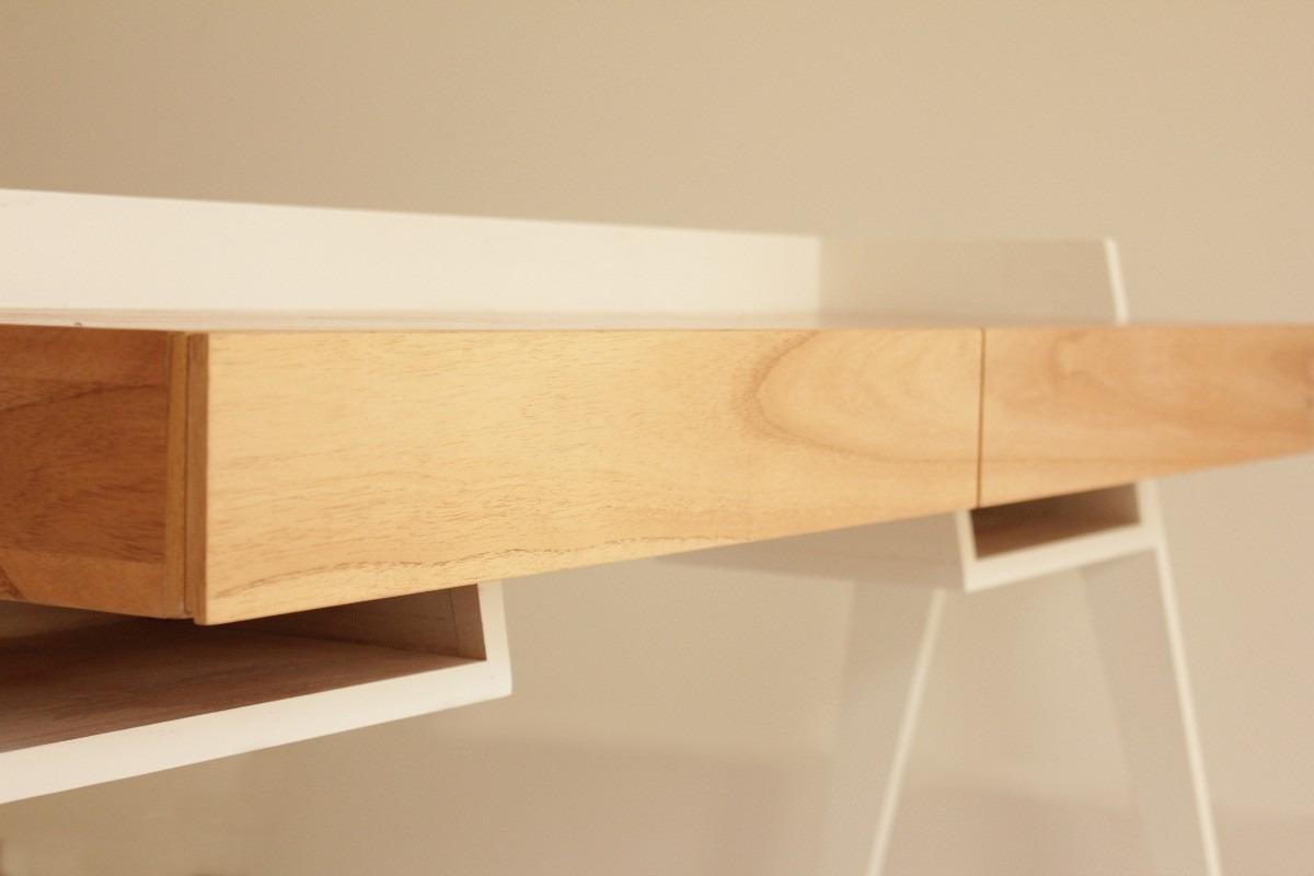 Mesas de escritorio de diseo mesa escritorio madera - Mesa escritorio madera ...