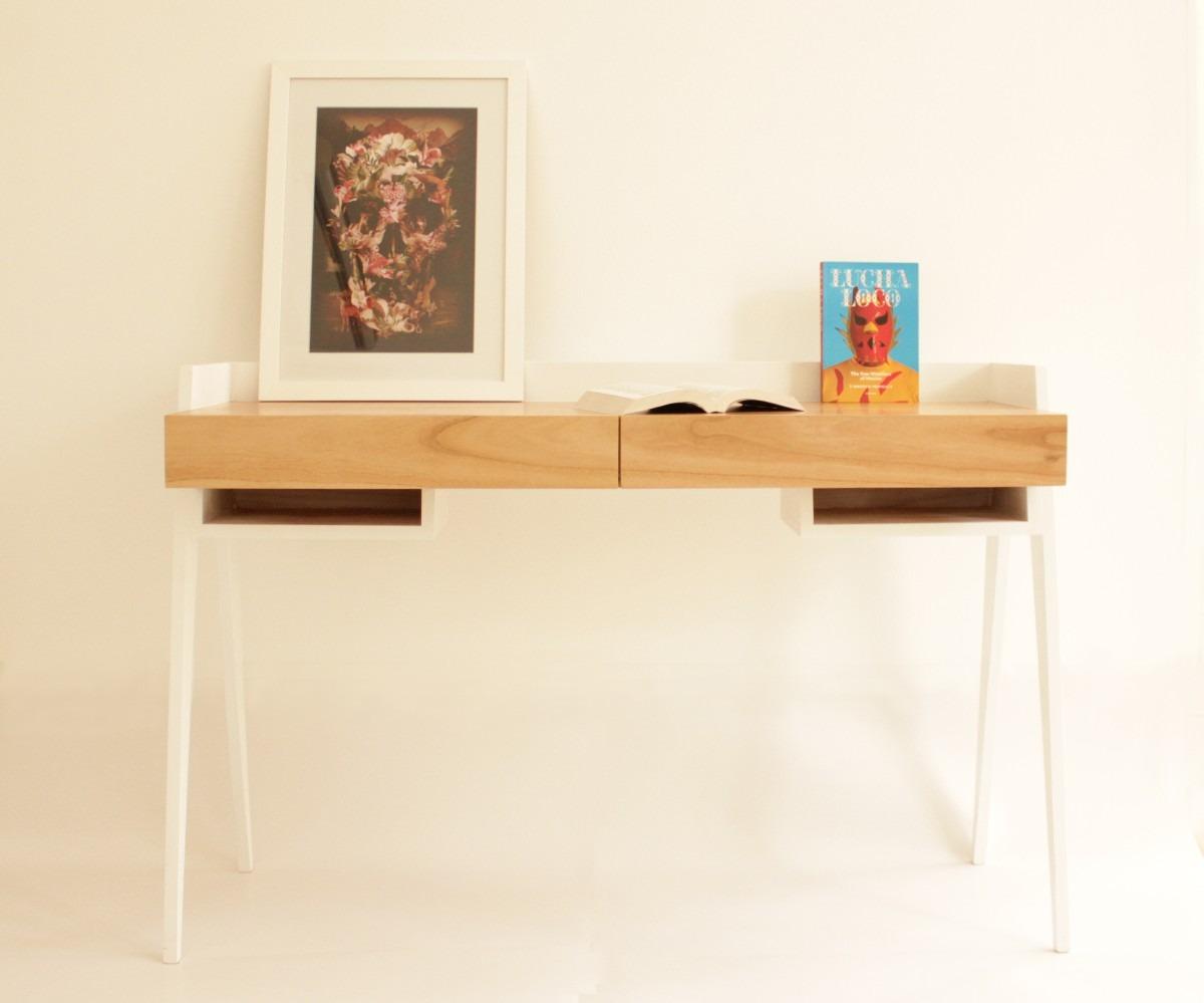 Mesas escritorio madera escritorio flotante madera mesa - Mesa escritorio madera ...