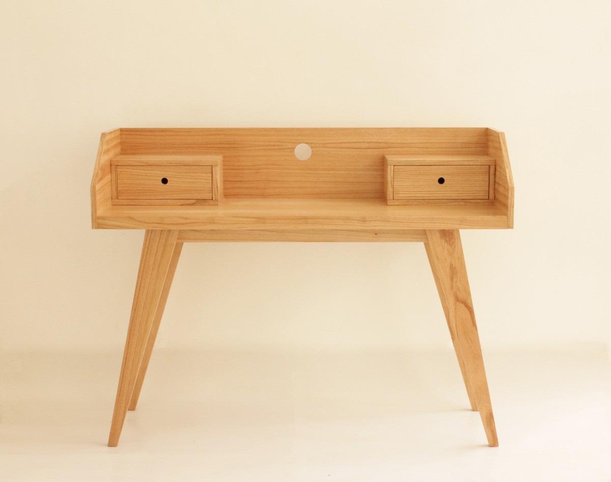 Mesas de escritorio de diseo fabulous soporte del for Diseno de muebles de madera modernos