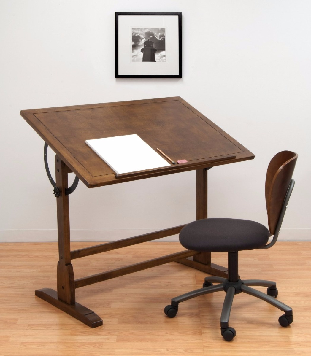 Escritorio mesa de trabajo restirador antiguo dibujo 107 - Escritorio mesa de trabajo ...