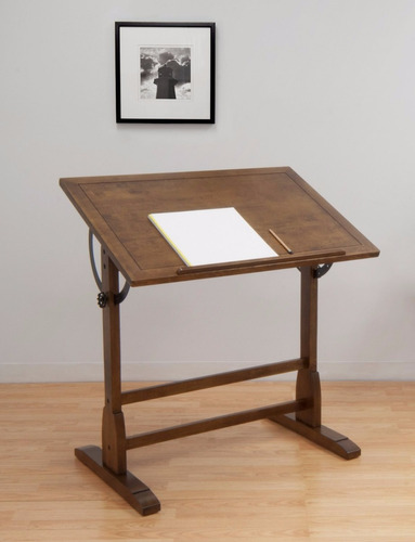 escritorio mesa de trabajo restirador estilo antiguo dibujo