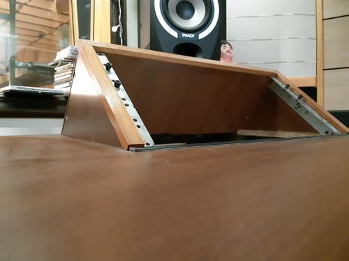 escritorio mesa estudio de grabacion rack 5u x lado