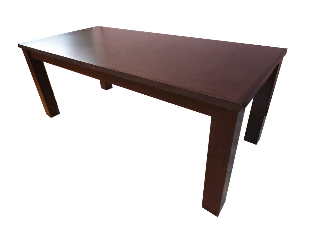 Escritorio mesa juntas usos diversos madera nogal solido - Mesa escritorio madera ...