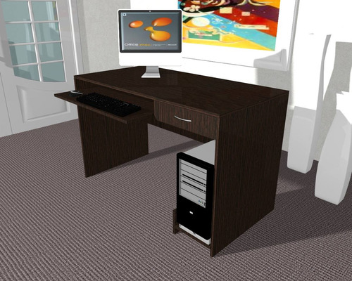 escritorio / mesa para computacion modelo 003-tess -107