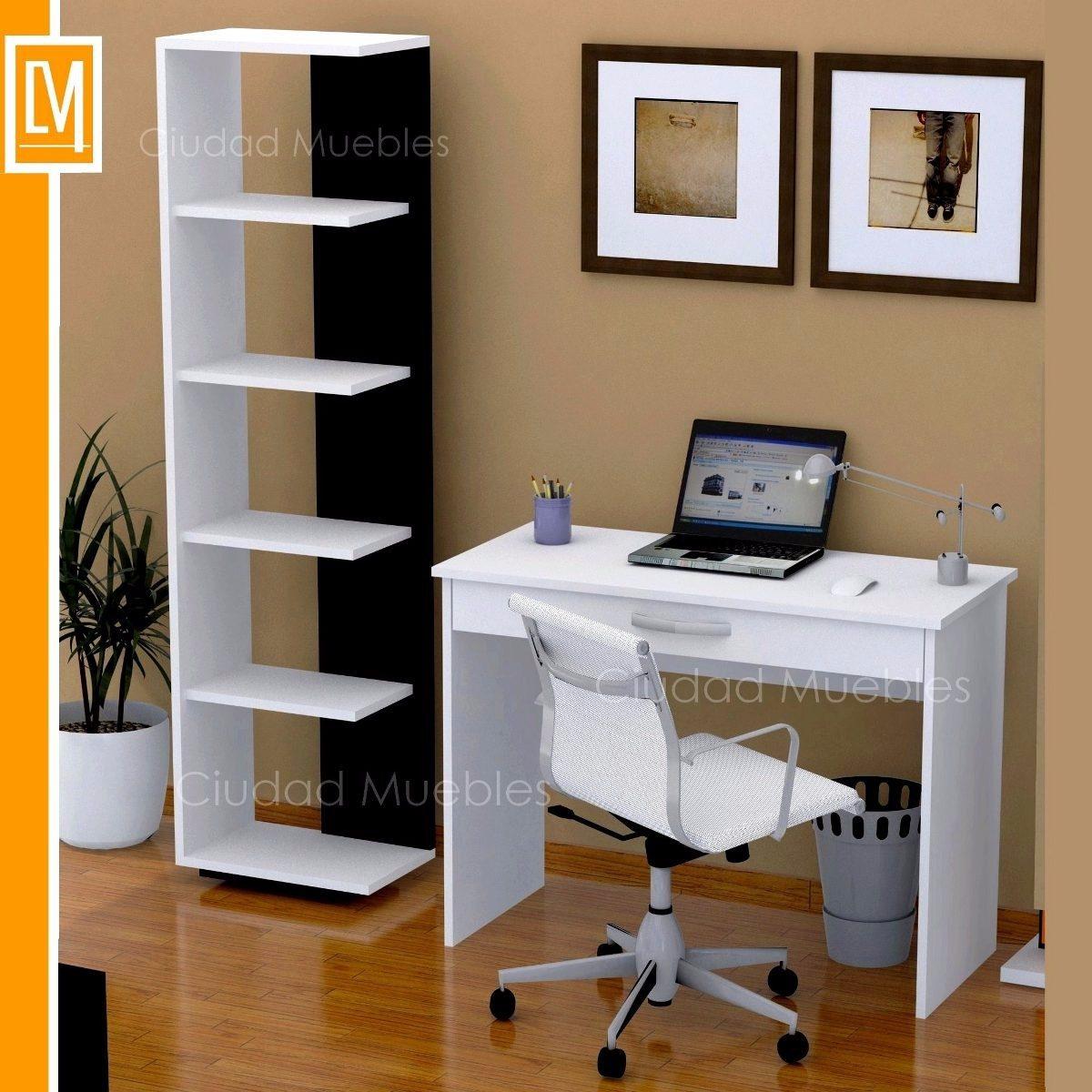 Escritorio Mesa Para Notebook Con Cajon Amplio Unico  # Muebles Para Notebook E Impresora