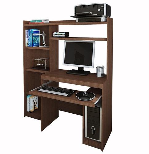 escritorio mesa para pc r11813 alzada y biblioteca envios