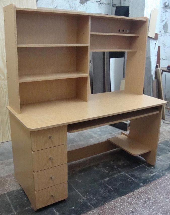 Como hacer una mesa de escritorio perfect escritorio con - Como hacer una mesa de ordenador ...