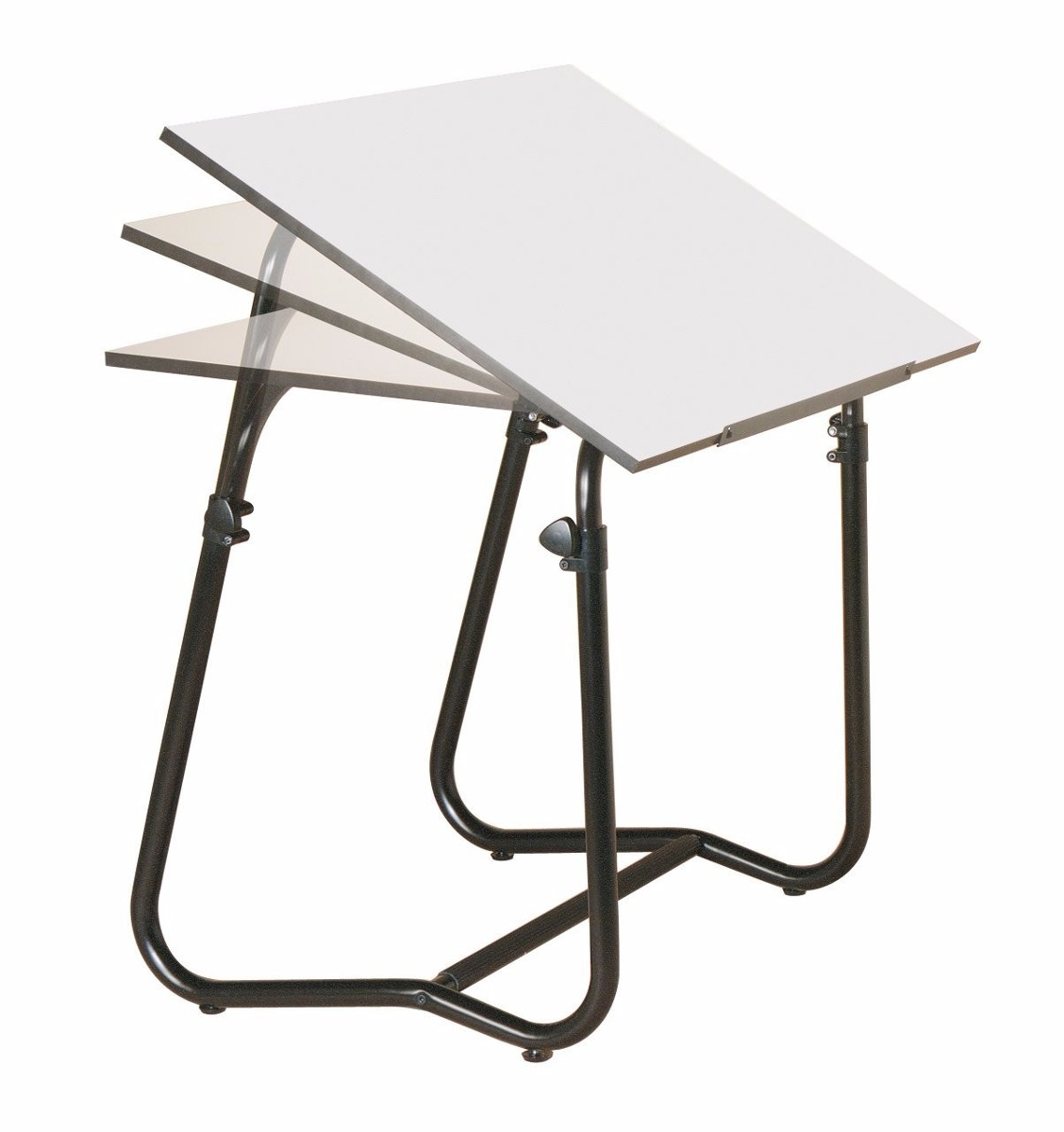 Escritorio mesa trabajo restirador doble vista blanco - Escritorio mesa de trabajo ...