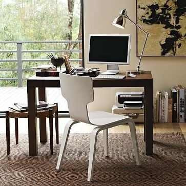 escritorio minimal madera moderno asia laqueado mesa 120x60