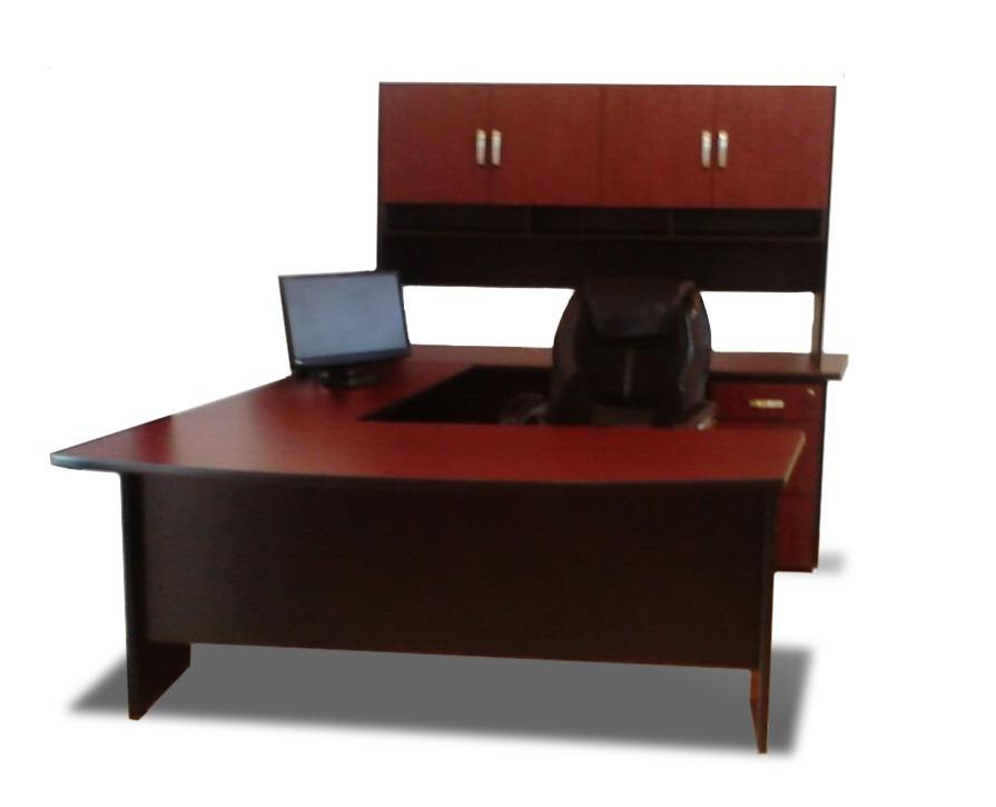 Escritorio minimalista blanco c archivero 3 gavetas c for Computadoras para oficina
