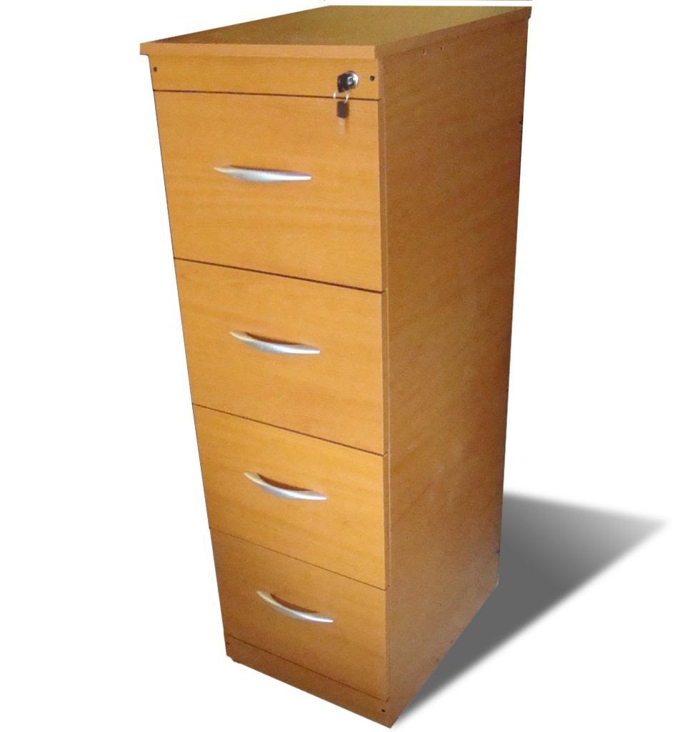 Escritorio minimalista blanco c archivero 3 gavetas c llave 3 en mercado libre for Muebles de oficina con llave