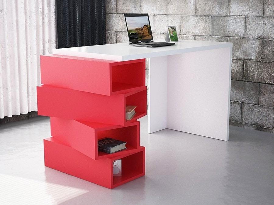 Escritorio minimalista mesa para pc cubo oficina hogar for Pc de oficina