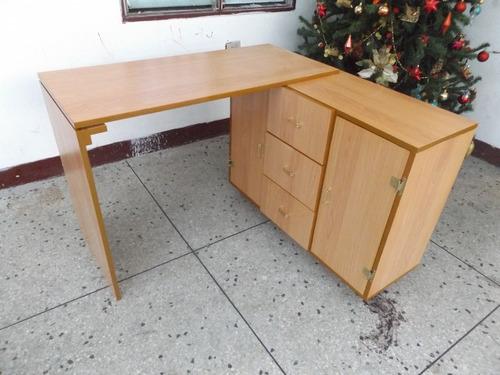 escritorio minimalista moderno biblioteca repisas oficina