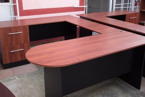 escritorio modelo c002-b, fabricamos mobiliario de oficina