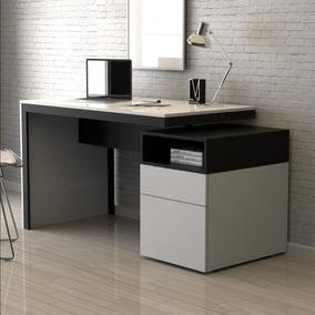 Muebles Oficina Modernos.Escritorio Moderno Con Archivero Cajon 142cm Recepcion