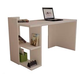 Escritorio Moderno Con Librero Para Laptop+regalos