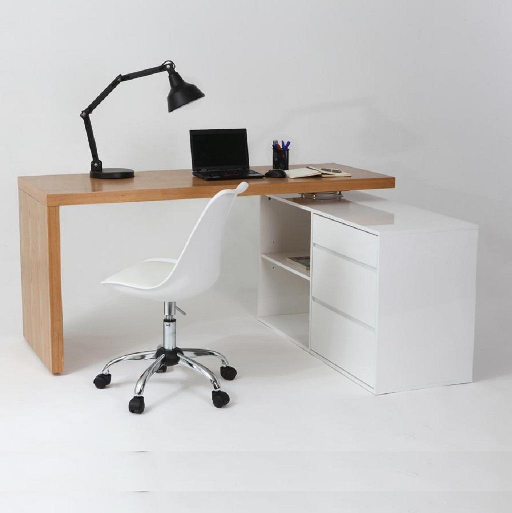 escritorio moderno diseo con silla tulip base cromada