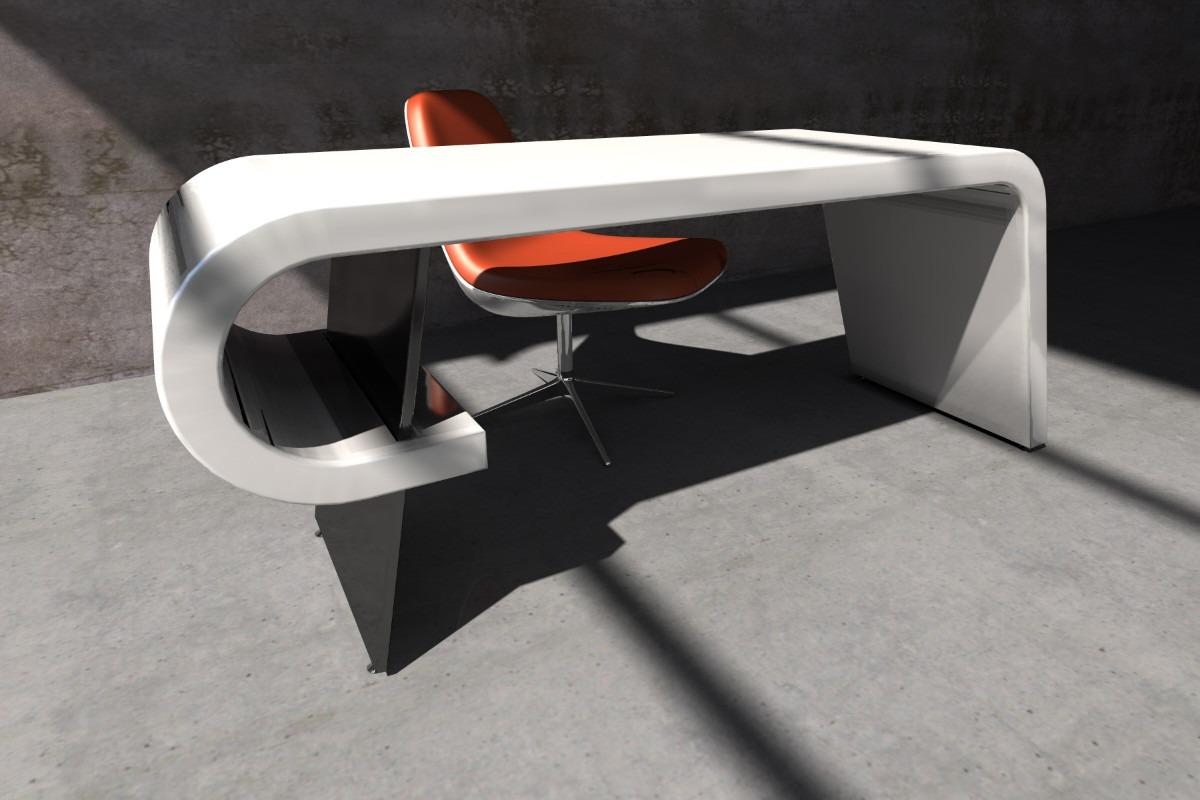 escritorio moderno laqueado exclusivo diseo oficina dam