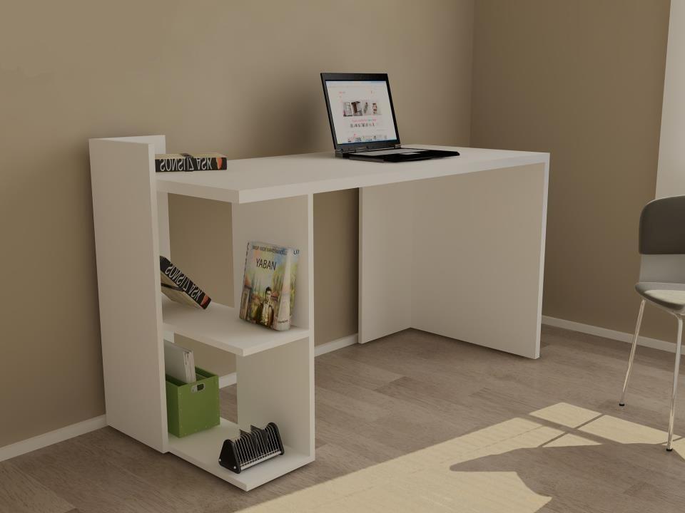 Escritorio Moderno Mesa Pc Notebook Mueble De Oficina 3 291