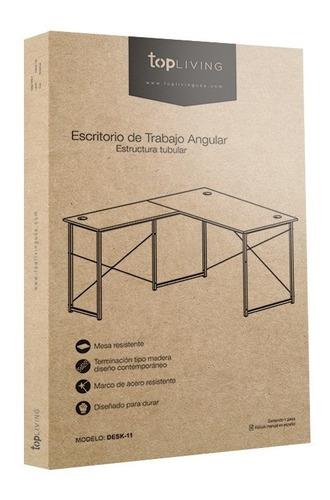 escritorio moderno minimalista para casa y oficina de madera