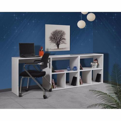 escritorio moderno movible organizador mesa pc dormitorio