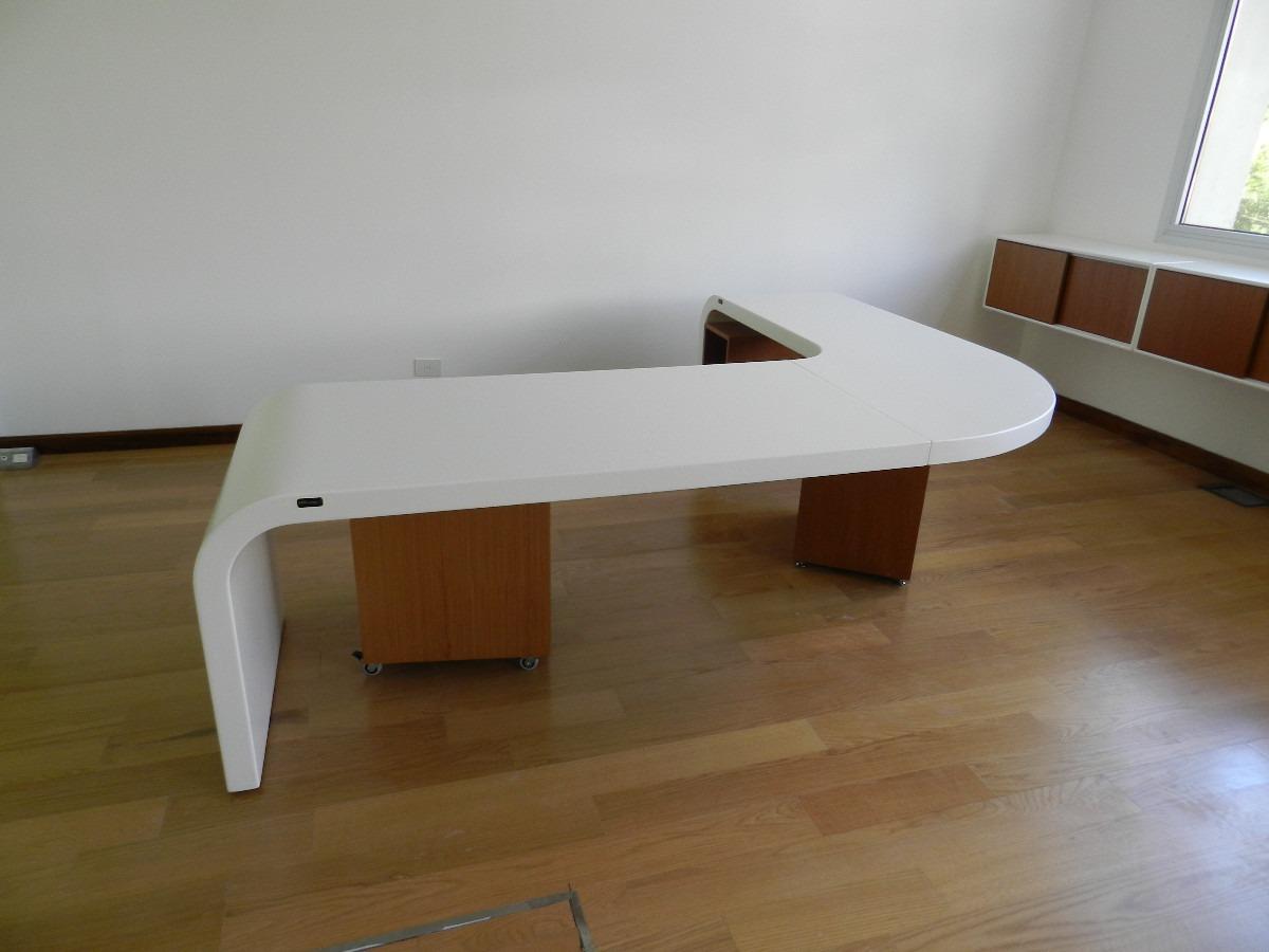 escritorio moderno muebles de oficina mesa de pc de diseño ... - Muebles De Oficina Diseno