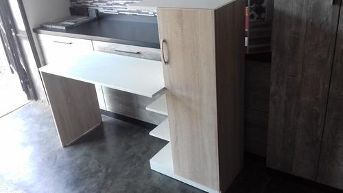escritorio moderno y multifuncional ...melamine 18 mlms