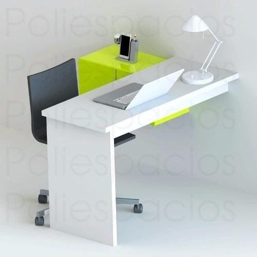 Escritorio mueble minimalista moderno repisa oficina - Mueble escritorio moderno ...