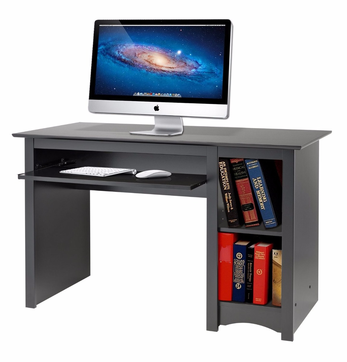 Escritorio mueble para computadora de prepac sonoma vbf for Mueble para escritorio